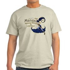 Fun Manga Fan Design T-Shirt
