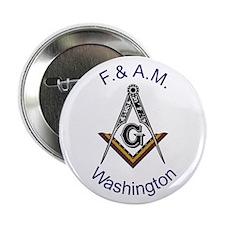 "Washington Square and Compass 2.25"" Button"