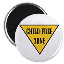 "Child-Free Zone 2.25"" Magnet (10 pack)"