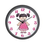Little Lady Wall Clock