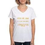 Mr. Main Women's V-Neck T-Shirt