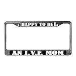 IVF Mom License Plate Frame