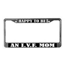 IVF Mom License Plate Frame