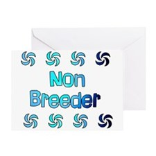Non Breeder Greeting Card