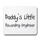 Daddy's Little Recording Engineer Mousepad