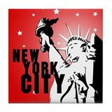 New York City Tile Coaster