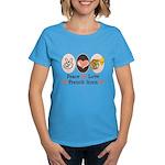 Peace Love French Horn Women's Dark T-Shirt