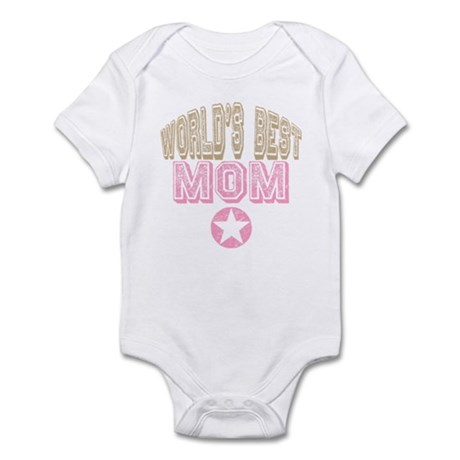 World's Best Mom Infant Bodysuit
