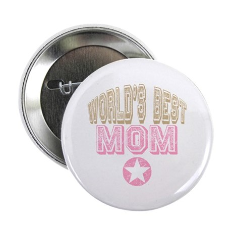 World's Best Mom 2.25&quot; Button (10 pack)