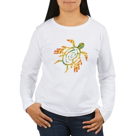 Winged Turtle Women's Long Sleeve T-Shirt