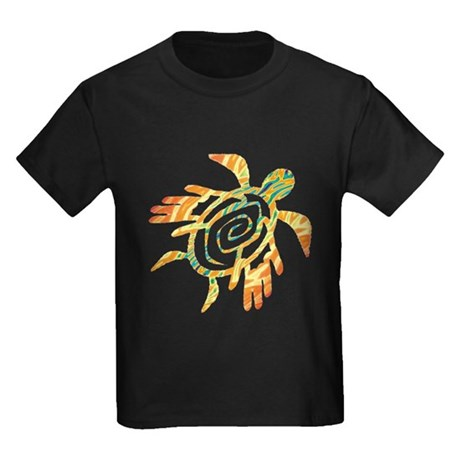 Winged Turtle Kids Dark T-Shirt