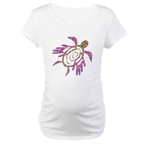 Winged Turtle Maternity T-Shirt