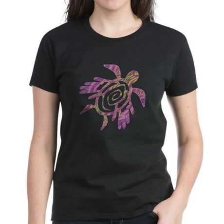 Winged Turtle Women's Dark T-Shirt