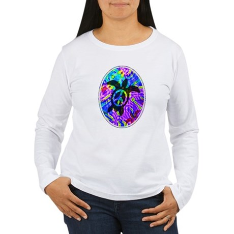 Peace Turtles Women's Long Sleeve T-Shirt