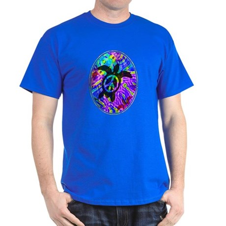 Peace Turtles Dark T-Shirt