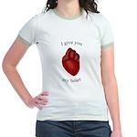 Human Heart Jr. Ringer T-Shirt