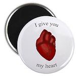"""Human Heart 2.25"""" Magnet (10 pack)"""