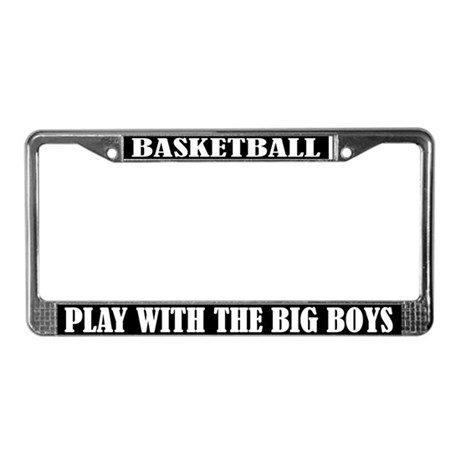 Funny Basketball License Plate Frame