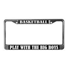 Funny Basketball License Plate Frame