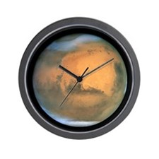 Mars image Wall Clock
