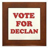 Vote for DECLAN Framed Tile