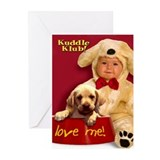 """Love Me"" from Kuddle Klub  Greeting Cards (Packag"