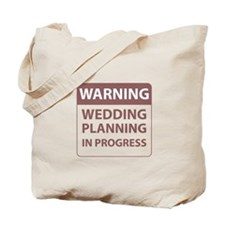 Wedding Plans Tote Bag
