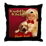 """Love Me"" from Kuddle Klub Throw Pillow"