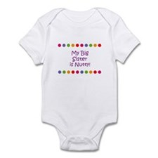 My Big Sister is Nutty! Infant Bodysuit