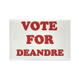 Vote for DEANDRE Rectangle Magnet