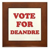 Vote for DEANDRE Framed Tile