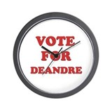 Vote for DEANDRE Wall Clock