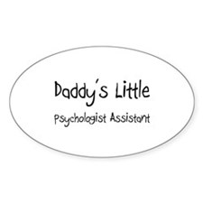 Daddy's Little Psychologist Assistant Decal