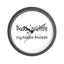 Daddy's Little Psychologist Assistant Wall Clock