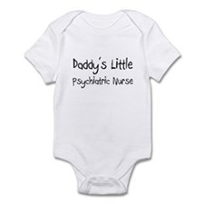 Daddy's Little Psychiatric Nurse Infant Bodysuit