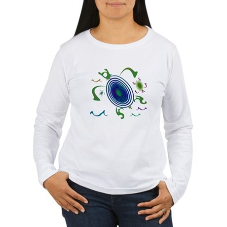 Spiral Turtles Women's Long Sleeve T-Shirt