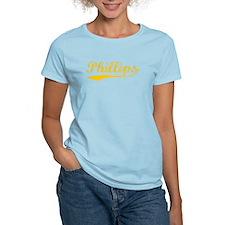 Vintage Phillips (Orange) T-Shirt
