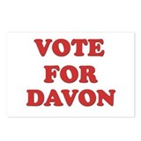 Vote for DAVON Postcards (Package of 8)