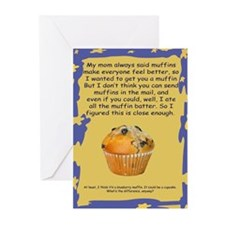 Mom's Blueberry Muffins Get Well Cards (Pk of 10)