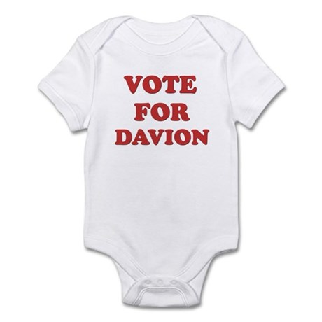 Vote for DAVION Infant Bodysuit