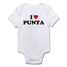 I Love Punta Infant Bodysuit