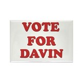 Vote for DAVIN Rectangle Magnet (10 pack)