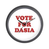 Vote for DASIA Wall Clock