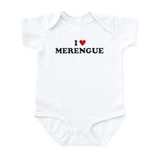 I Love Merengue Infant Bodysuit