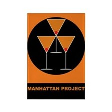 Manhattan Project Rectangle Magnet