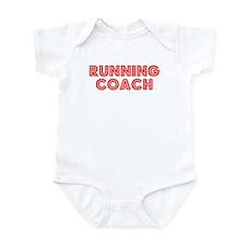 Retro Running Coach (Red) Infant Bodysuit