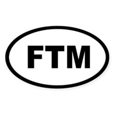 FTM Oval Decal