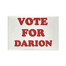 Vote for DARION Rectangle Magnet