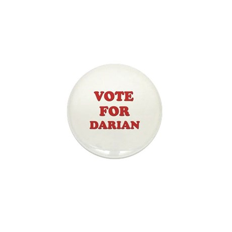 Vote for DARIAN Mini Button (10 pack)