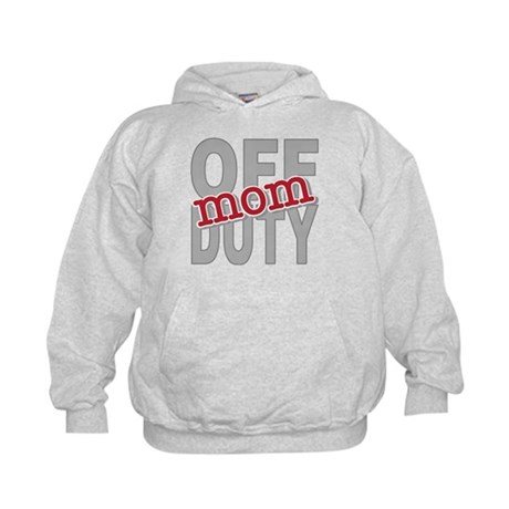 Off Duty Mom Profession Kids Hoodie
